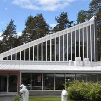 Rantasalmen seurakuntatalo ja kappeli Kirkkorinne